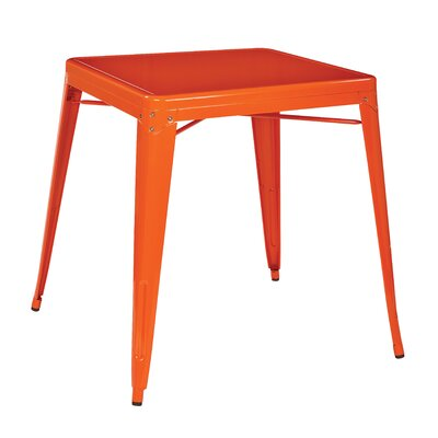 Blaney End Table Finish Orange