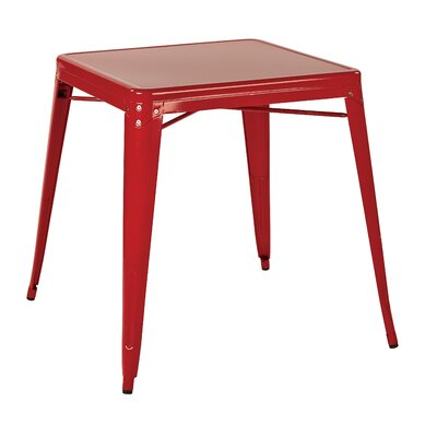 Blaney End Table Finish Red