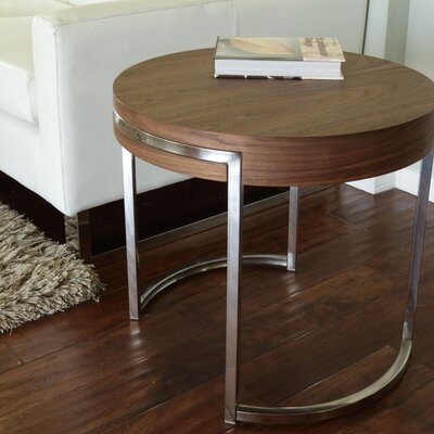 Cutler End Table Finish: Walnut