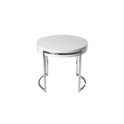Cutler End Table Finish: White