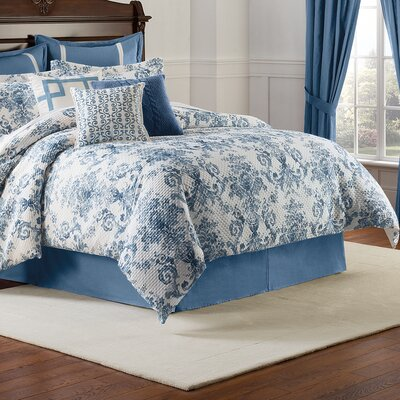 Williamsburg Randolph Comforter Set Size: Queen
