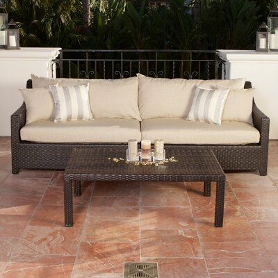 Northridge 2 Piece Deep Seating Group with Cushion Fabric: Slate