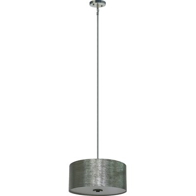 Olivo 3-Light Drum Chandelier Shade Color: Starlight Weave
