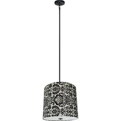 Olivo 5-Light Shaded Chandelier Shade Color: White Decadence