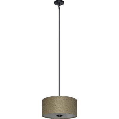 Olivo 3-Light Drum Chandelier Shade Color: Woven Basket