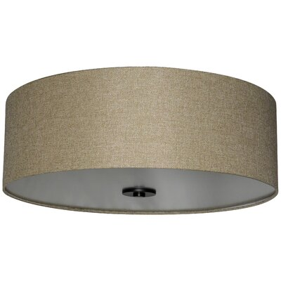 Olivo 22 Silk Drum Lamp Shade Finish: Woven Basket
