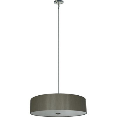 Olivo 5-Light Drum Pendant Shade Color: Toffee Crunch