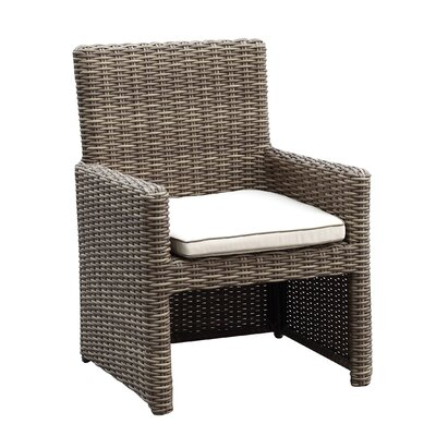Hasler Dining Arm Chair with Cushion