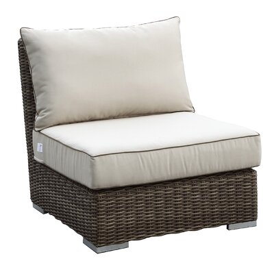 Hasler Armless Club Chair with Cushions