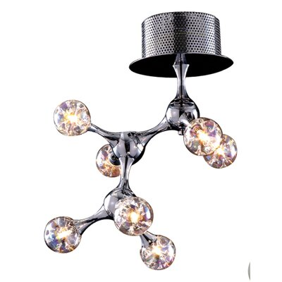 Kurland 7-Light Semi Flush Mount