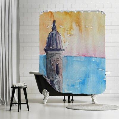 Markus Bleichner Andino Puerto Rico E l Morro Shower Curtain