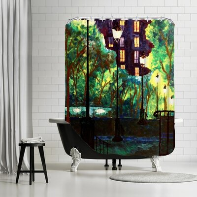Markus Bleichner Choy Shower Curtain