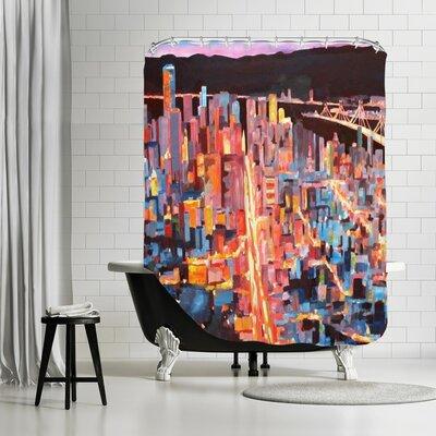 Markus Bleichner Cosgrove San Francisco Market Street 1 Shower Curtain