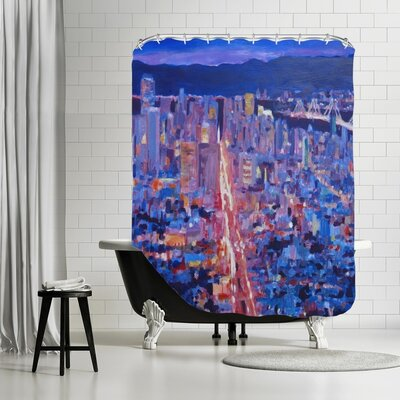 Markus Bleichner Brizendine San Francisco Market Street Shower Curtain