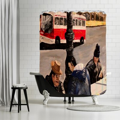 Markus Bleichner Blanford Shower Curtain
