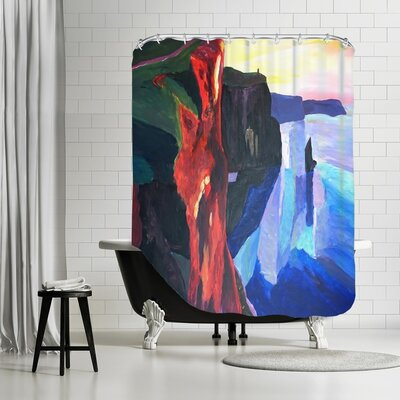 Wynne Moher Shower Curtain