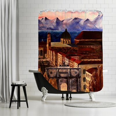 Markus Bleichner Dehn Shower Curtain