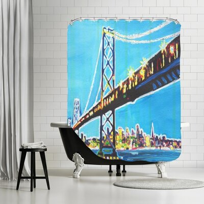 Markus Bleichner Schumaker San Francisco Oakland Shower Curtain