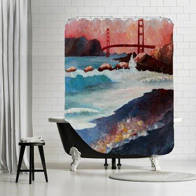 Markus Bleichner Jeremiah San Fran Goldengate Shower Curtain