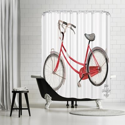 Gina Maher Jantzen Shower Curtain
