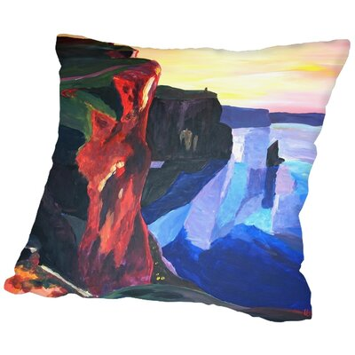Markus Bleichner Jeffords Throw Pillow Size: 18 H x 18 W x 2 D