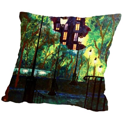 Markus Bleichner Rettig Throw Pillow Size: 18 H x 18 W x 2 D