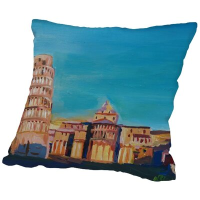 Markus Bleichner Mcdorman Throw Pillow Size: 18 H x 18 W x 2 D