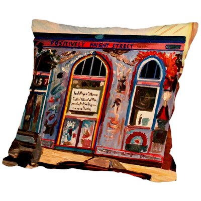Markus Bleichner Donis Positively Haight Throw Pillow Size: 20 H x 20 W x 2 D