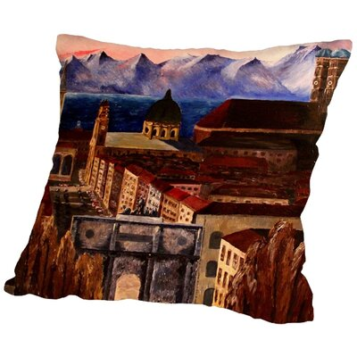 Markus Bleichner Roselli Throw Pillow Size: 18 H x 18 W x 2 D