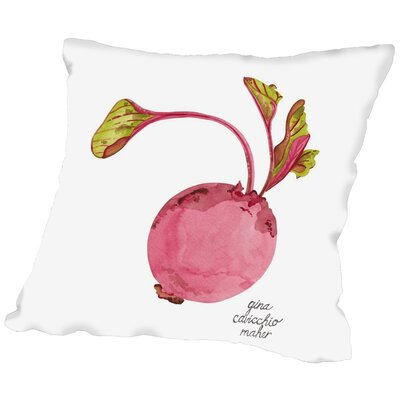 Gina Maher Gebhard Throw Pillow Size: 18 H x 18 W x 2 D