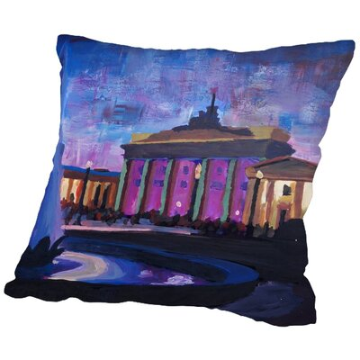 Markus Bleichner Pegues 1 Throw Pillow Size: 16
