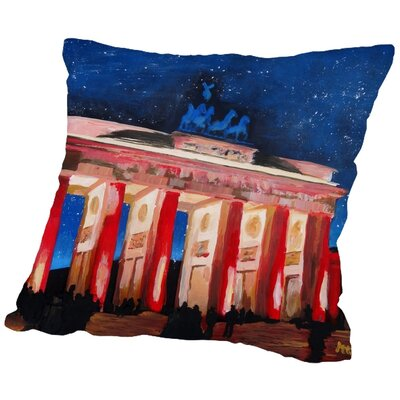 Markus Bleichner Cullum 2 Stars Throw Pillow Size: 20 H x 20 W x 2 D