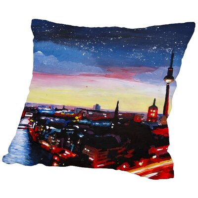 Markus Bleichner Fegan 3 Throw Pillow