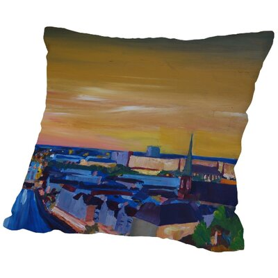Markus Bleichner Dubreuil Gelb 2 Throw Pillow Size: 16 H x 16 W x 2 D