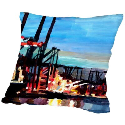 Markus Bleichner Payan Throw Pillow Size: 18 H x 18 W x 2 D