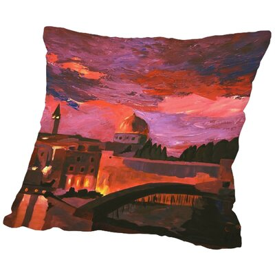 Markus Bleichner Tarrance Jerusalem 2 Throw Pillow Size: 20 H x 20 W x 2 D