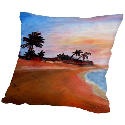 Markus Bleichner Flory Varadero 2 Throw Pillow Size: 16 H x 16 W x 2 D