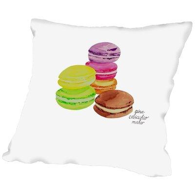 Gina Maher Mckelvy Throw Pillow Size: 18 H x 18 W x 2 D