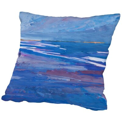 Markus Bleichner Coan Seascape 2 Throw Pillow Size: 18 H x 18 W x 2 D