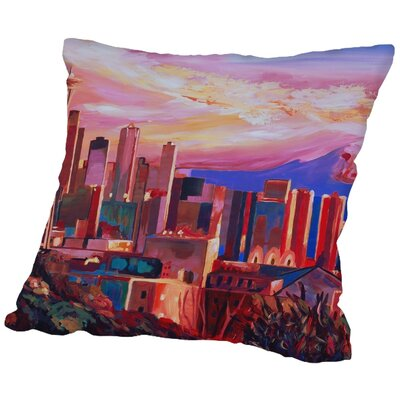 Markus Bleichner Eckart Seattle Throw Pillow Size: 18 H x 18 W x 2 D