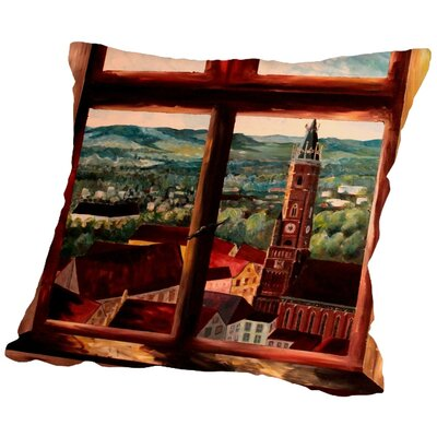 Markus Bleichner Loaiza Throw Pillow Size: 16 H x 16 W x 2 D