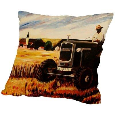 Markus Bleichner Seidman The Farmer Throw Pillow