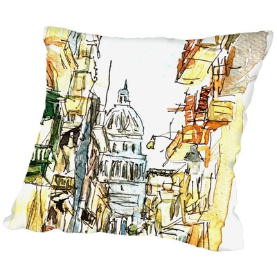 Markus Bleichner Plunkett Havanna Parliament Neu Throw Pillow Size: 16 H x 16 W x 2 D