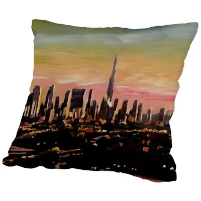 Markus Bleichner Principato Throw Pillow Size: 18 H x 18 W x 2 D