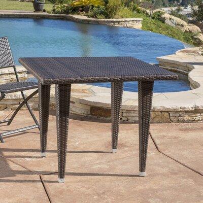 Weishaar Outdoor Wicker Dining Table