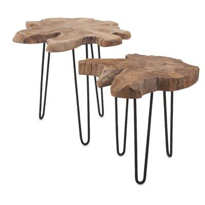 Beveridge 2 Piece Nesting Tables Set