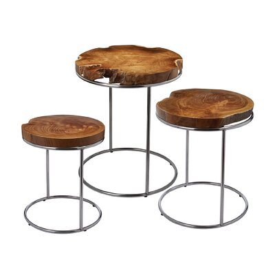 Gipson 3 Piece End Table Set