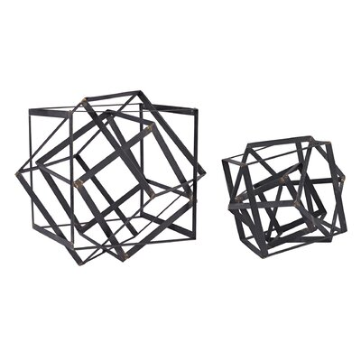 Adhafera Cube Object Sculpture