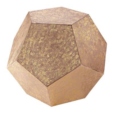 Brayden Studio Dodecahedron Cube Sculpture