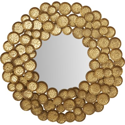 Brayden Studio Honey Mushroom Mirror